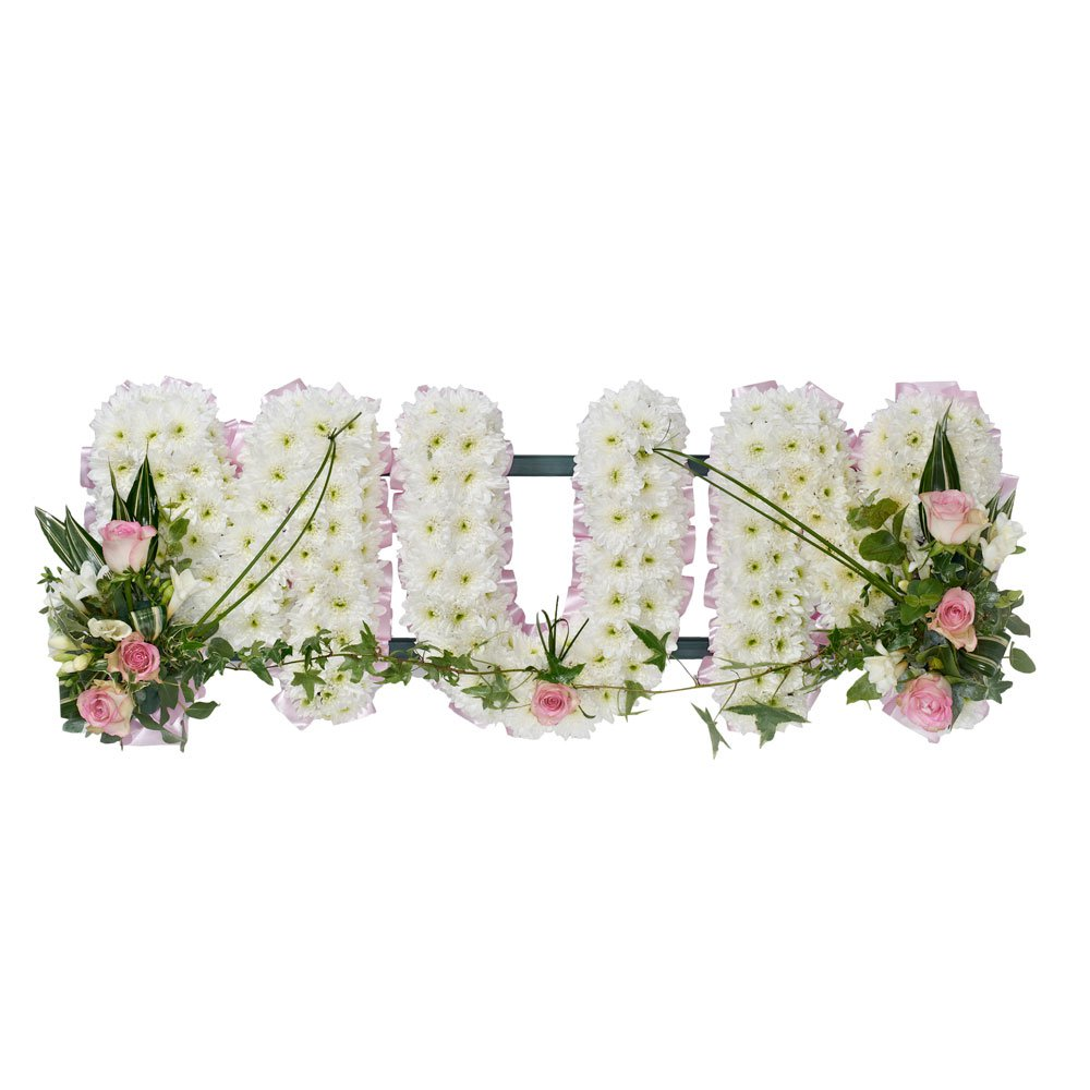 Sentimental Floral Alphabet